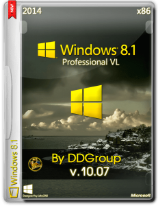 Windows 8.1 Pro vl x86 [v.10.07] by DDGroup [Ru]