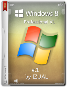Windows 8 Pro by IZUAL Maximum v1. (х64) (обновлена 08:07:14) (2014) [Rus]