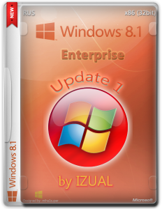 Windows 8.1 Enterprise by IZUAL Maximum v 10.07.2014 (х32) (2014) [Rus]