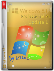 Windows 8.1 Pro by IZUAL Maximum v 11.07.2014 (х32) (2014) [Rus]