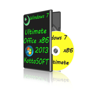 Windows7 Ultimate Office 2013 KottoSOFT.V .10.7.14 (x86 )(2014) (RUS)