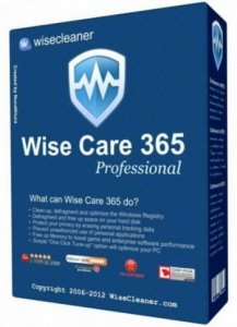 Wise Care 365 Pro 3.18 Build 278 Portable by Valx [Ru/En]