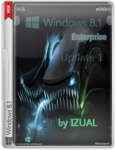 Windows 8.1 Enterprise by IZUAL Maximum v18.07.2014 (х64) (2014) [Rus]