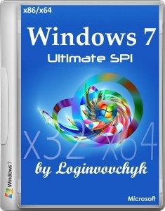 Windows 7 Ultimate SP1 by Loginvovchyk ���� ��� �������� (x86-x64) (2014) [Rus]