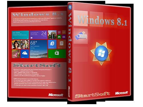 Windows 8.1 Plus PE StartSoft 39 (x86-x64) (2014) [Rus]