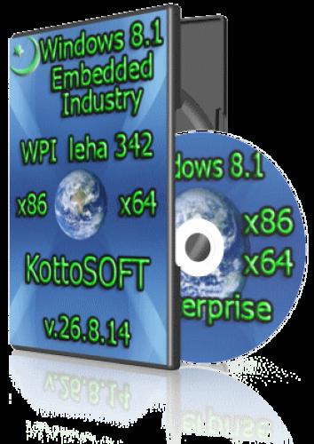 Windows 8.1 Enterprise KottoSOFT 26.8.14 (32 bit 64 bit) (2014) [RUS]