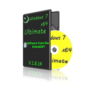 Windows7x64 Ultimate KottoSOFT V.1.8.14 (64 bit) (2014) (Rus)