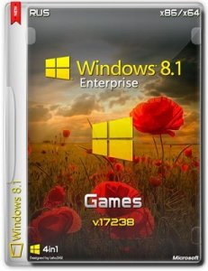 Microsoft Windows 8.1 Enterprise 17238 x86-x64 RU Games by Lopatkin (2014) Русский