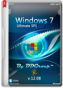 Windows 7 Ultimate SP1 by DDGroup� 12.08 (x64�86) (2014) [Ru]