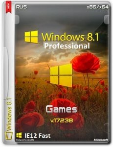 Microsoft Windows 8.1 Pro VL 17238 x86-x64 RU IE12.Fast.Games by Lopatkin (2014) Русский