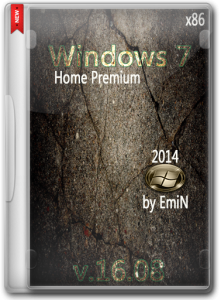 Windows 7 Home Premium SP1 by EmiN (x86) (2014) [RUS]