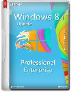 Windows 8.1 x86/x64 Professional + Enterprise Update by -=Qmax=- 17.08.14 (x86/x64) (2014) [RUS]