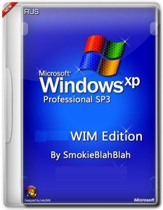 Windows XP SP3 WIM Edition by SmokieBlahBlah 18.08.14 (�32) (2014) [Ru]