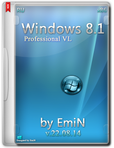 Windows 8.1 Professional VL with update by EmiN (x86) (2014) [Rus]