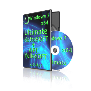 Windows7x64 Ultimate KottoSOFT V.24.8.14 (x64) (2014) [Rus]
