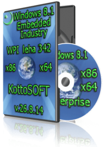 Windows 8.1 Enterprise KottoSOFT 26.8.14 (32 bit 64 bit) (2014) [RUS]