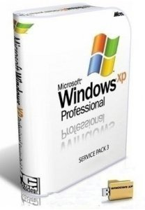 Microsoft Windows XP Professional 32 bit Post-SP3 All-in-One RU 0814 by Lopatkin (2014) Русский
