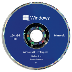 Windows 8.1 Enterprise by Doom v.1.06 (x86-x64) (2014) [Rus]