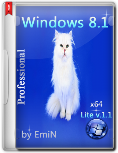 Windows 8.1 Pro Lite v1.1 by EmiN (x64) (2014) [Rus]