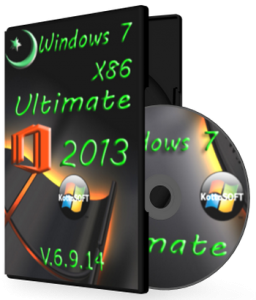 Windows 7 Ultimate Office 2013 KottoSOFT v.6.9.14 (x86) (2014) [Rus]