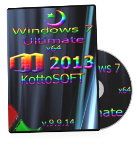 Windows 7 Ultimate Office 2013 KottoSOFT v.9.9.14 (x64) (2014) [Rus]