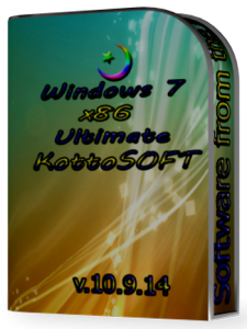 Windows 7 Ultimate KottoSOFT v.10.9.14 (x86) (2014) [Rus]