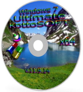 Windows 7 Ultimate KottoSOFT v.11.9.14 (x64) (2014) [Rus]