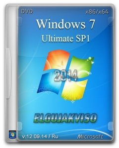 Windows 7 Ultimate SP1 Elgujakviso Edition v12.09.14 (x86-x64) (2014) [Rus]