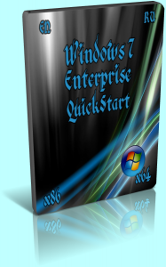 Windows 7 Enterprise / Корпоративная • QuickStart • SP1 (x86 x64) (2014) [EN/RU]