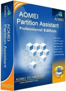 AOMEI Partition Assistant Professional Edition 5.5.8 WinPE [Multi/Ru]