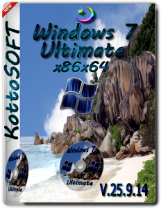 Windows7 Ultimate KottoSOFT V.25.9.14 (x86x64) (2014) [RUS]