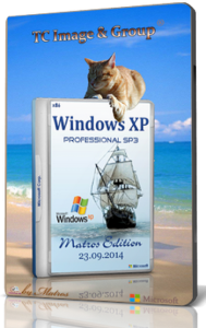 Windows XP SP3 Professional by Matros Edition (x86) (2014) [Rus]