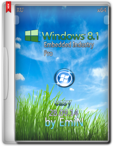 Windows Embedded 8.1 Industry Pro Easy by EmiN (x64) (2014) [Rus]