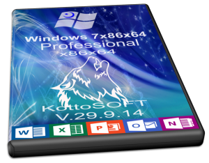 Windows7 Professional Office 2013 KottoSOFT V.29.9.14 (x86-x64) (2014) [Rus]
