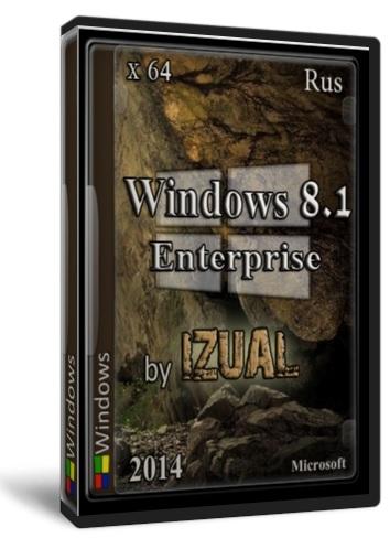 Windows 8.1 Enterprise With Update IZUAL v18.10.14 (x64) (2014) [Rus]