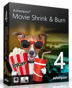 Ashampoo Movie Shrink & Burn 4.0.1.5 RePacK by D!akov [Multi/Ru]