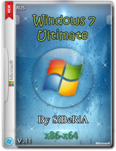 Windows 7 Ultimate SP1 SiBeRiA V.11 (x86-x64) (2014) [Rus]