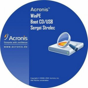 Acronis Boot CD/USB Sergei Strelec (11.10.2014) [Ru]