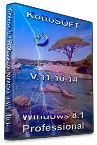 Windows 8.1 Professional KottoSOFT V.11.10.14 (x64) (2014) [Rus]