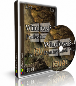 Windows 8.1 Professional Vl With Update IZUAL v13.10.14 (x64) (2014) [Rus]