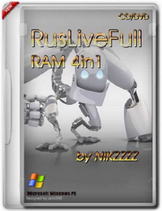 RusLiveFull RAM 4in1 by NIKZZZZ CD/DVD (2014) (x86/x64) [MUI|RUS]