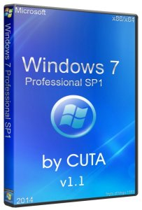 Windows 7 PROFESSIONAL by CUTA v1.1 (x86-x64) (2014) [RUS]