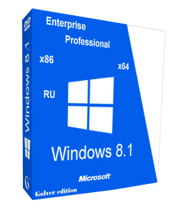 Windows 8.1 with Update Pro-Ent STR by Golver 10.2014 2DVD (x86-x64) (2014) [Rus]