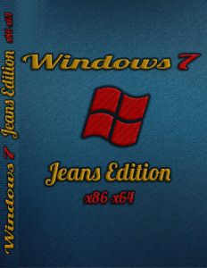 Windows 7 Pro SP1 JeansEdition by Stason (x86-x64) (2014) [Rus]