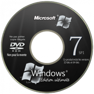 Windows 7 Ultimate SP1 by Loginvovchyk 6.1 (x86+x64) (2014) [Rus/Eng]