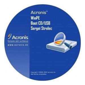 Acronis Boot CD/USB Sergei Strelec x64 (04.11.2014) [Rus]