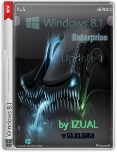 Windows 8.1 Enterprise With Update by IZUAL v10.11.14 (64bit) (2014) [Rus]