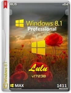 Microsoft Windows 8.1 Pro VL 17238 x64 RU LULU by Lopatkin (2014) Русский