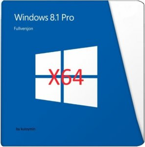 Windows 8.1 with Update Pro Original Edition by kuloymin (x64) (2014) [Rus]