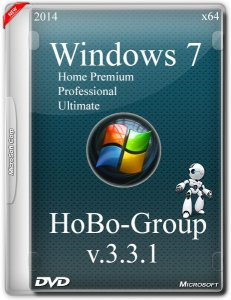Windows 7 SP1 3in1 by HoBo-Group v.3.3.1 (x64) (2014) [Rus]